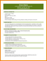 Simple Resume Format 100 simple resume sample for fresh graduate legacy builder coaching 99