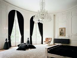 Black living room curtains Drapes Architecture Art Designs 30 Stylish Interior Designs With Black Curtains