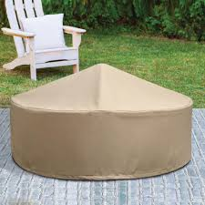 patio armor ripstop round fire pit cover