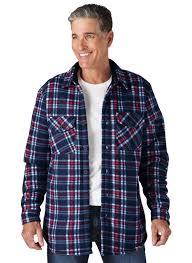 mens sherpa lined jacket