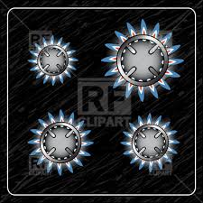 stove top burner clipart. gas oven with four gas-stove burners - top view, 9701, download royalty stove burner clipart