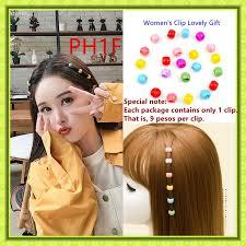 PH1F-Korean HOT Hairpin Small <b>Candy Beans</b> Grab Women's Clip ...
