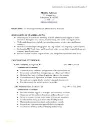 Sample Administrative Assistant Resume Template Senior ...