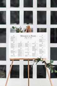 Calligraphy Wedding Seating Chart Calligraphy Wedding Seating Chart Wedding Seating Chart Sign Framed Framed Seating Chart For Wedding