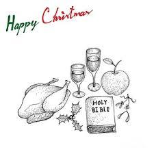 thanksgiving turkey dinner drawing. Fine Thanksgiving Thanksgiving Dinner Drawing  Christmas And New Year With  Turkey Wine By Iam Nee