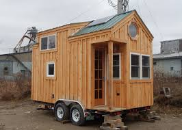 ... 8x16 Custom Tiny House on Wheels with solar package ...