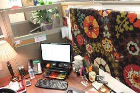 Pleasant Office Cubicle Decor Also Office Cubicle Decorating Ideas