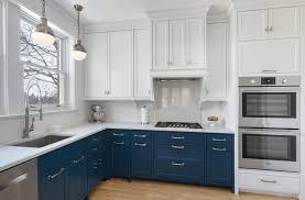 Dark Blue Kitchen Cabinets Navy Blue And White Kitchen Cabinets Design Porter