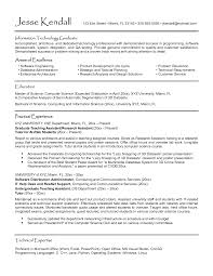 Oracle Dba Resume Format Resume For Study