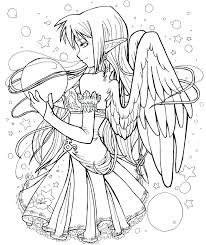 Anime Coloring Sheets Pdf Anime Coloring Page Anime Coloring Pages
