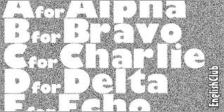 Army Phonetic Alphabet Chart English Phonetic Spelling International Phonetic Alphabet