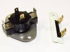 whirlpool dryer thermostat 3387134 dryer thermostat and fuse set for whirlpool kenmore roper tag