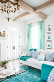 Turquoise Rug Living Room