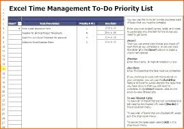 Priority List Template Copster Co