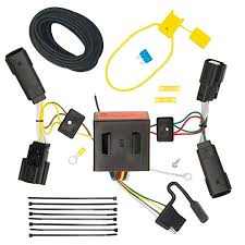 amazon com tekonsha 118566 t one connector assembly with upgraded Trailer Hitch Connector at Installing Trailer Hitch Wire Harness 2014 Escape