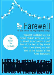 Farewell Breakfast Invitation Template Party Wording For
