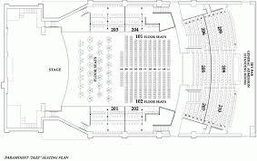 Seating Chart The Paramount Huntington Ny