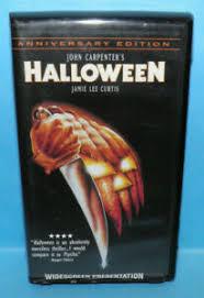 John Carpenter's Halloween Jamie Lee Curtis Wide Screen VHS | eBay