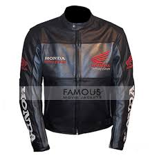 1 review for honda motorcycle black leather jacket
