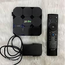 S8 Pro TV Box, TV & Home Appliances, TV & Entertainment, Media Streamers &  Hubs on Carousell