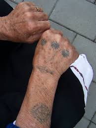 татуировки балканских женщин украшение исповедание или оберег