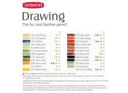 Image Result For Derwent Drawing Pencils Colour Chart In