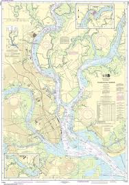 Charleston Harbor Chart 11524 Noaa Nautical Chart 11524 Charleston Harbor Nautical
