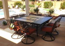 A Nice Outdoor Gathering And Dining Space Furnished With