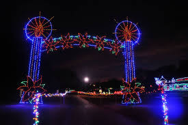 Yukon Holiday Lights Yukons Christmas In The Park Location Dates Times