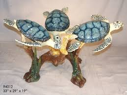 bronze turtle table base