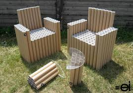 cardboard tube furniture. Cardboard Tube Chair Furniture P