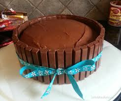 Kit Kat Cake Recipe Easy Birthday Cake Idea