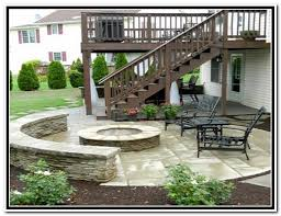 Paver Patio Design Ideas wood back yard deck ideas 33 patio design under deck