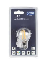 E14 Led Light Bulb Shop Jysk Tore E14 Led Light Bulb Clear 4 5 Centimeter Online In Riyadh Jeddah And All Ksa