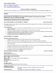 Awesome Collection Of 100 Handling Money Resume In