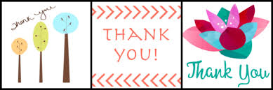 Printable Thank You Cards Free Printable Thank You Cards Cultured Palate