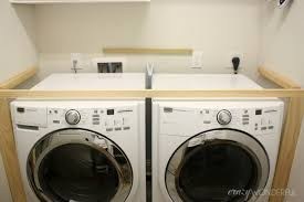 Diy built in washer dryer