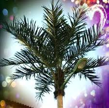 outdoor solar led palm tree light artificial plant landscaping lighting china steel rods factory lights