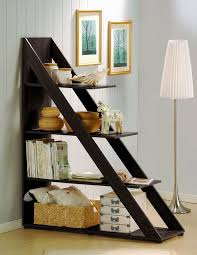 Image of Wonderful Ladder Bookshelf Idea