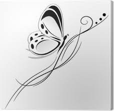 Motýl Tribal Tetování