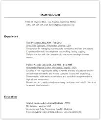 Resumes Online Examples Resume Format Download Pdf. Select