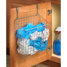 Over The Cabinet Basket Spectrum Diversified Over The Cabinet Grid Cabinet Door Organizer