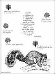 spanish poems for kids teach words