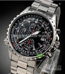 new stainless steel date men s chronograph quartz watch mens there