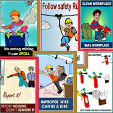 health safety environment best office posters