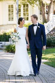 The Smarter Way To Wed Blue Tuxedos Satin Wedding Dresses And