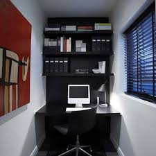 small office corner apartment home office