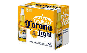12 bottle box of mexico s corona light beer