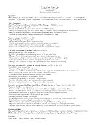 100 Sample Resume For Administrative Assistant Job Cover