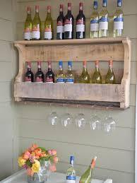 best of diy hanging wine rack wall mounted plansen glass holder diy wall